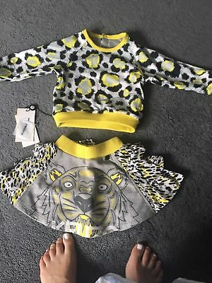 kenzo baby girl tiered skirt 12-18 months