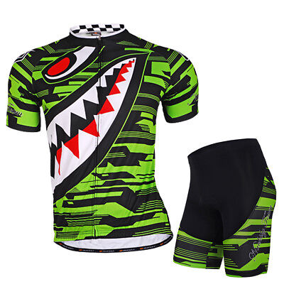 Outdoor Sports Men's Cycling Short Jersey Short Pants Suitable Adults Green XL