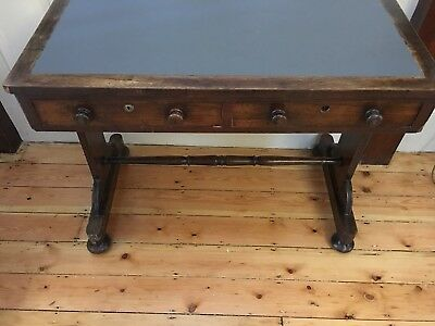 Attractive William 1V Antique Rosewood writing desk/table/console/sofa 2 drawers