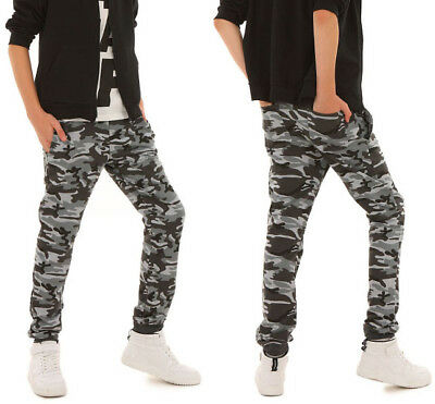 Jungen Thermo Hose Camouflage Warm Winter Herbst 116-158 hk305