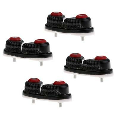 4pcs Boat Composite K Ball Bearing Cam Cleat Wire/ Line Cleat