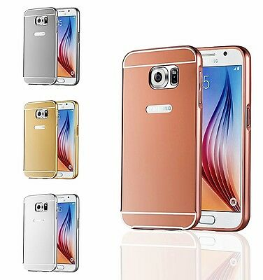 Aluminum Bumper Protective Case Mobile Phone Cover Optional Tempered Glass Film
