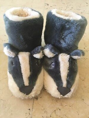 Mini Boden Badger Slippers Size 29 (UK 11) Ex. Cond.