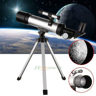 360x50mm Astronomical Telescope Tube Refractor Monocular Spotting Scope + Tripod