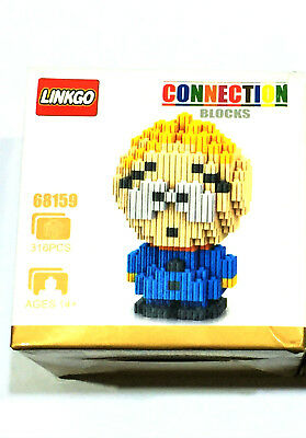 South Park DIY Figures Lot 2 Sets Kenny Butters Building Blocks Toy Nanoblocks