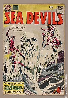 Sea Devils #7 1962 GD- 1.8 Low Grade