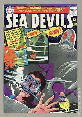 Sea Devils UK Edition #27UK 1966 VG+ 4.5