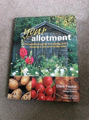 Your Allotment - Book By Clare Foster