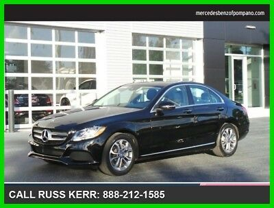 2017 Mercedes-Benz C-Class C 300 2017 C 300 Used Turbo 2L I4 16V Automatic All Wheel Drive Sedan Premium