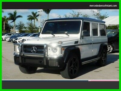 2017 Mercedes-Benz AMG® G 63 AMG G 63 2017 AMG G 63 Used Certified Turbo 5.5L V8 32V Automatic All Wheel Drive SUV