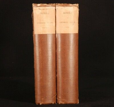 1880 2 Vols ROMOLA by George ELIOT Limited Edition