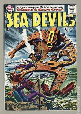 Sea Devils UK Edition #12UK 1963 VG+ 4.5