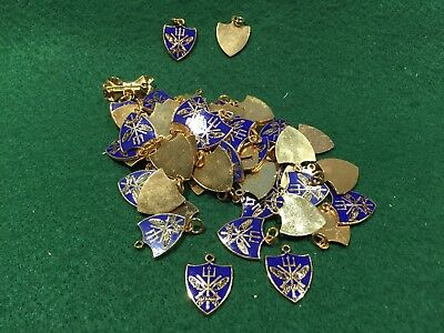 Lot of 60 Vintage Navy ACLANT Allied Command Atlantic Metal Charms