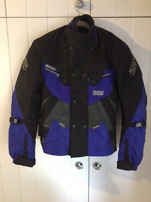 IXS Armoured Swiss Scotchlite Waterproof Motorbike Jacket