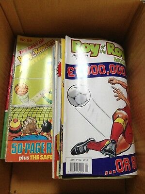 Roy Of The Rovers Football Comics Magazines Bundle Of 62 1989 1990