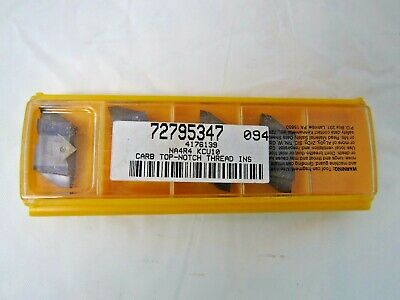 NDC4040R3 KC710 TOP NOTCH THREADING KENNAMETAL PACK OF 5 INSERTS
