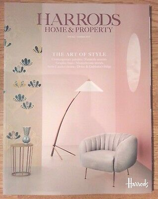 Harrods Home and Property Magazine Spring /Summer 2017. Large A4 size.