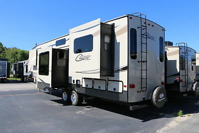Lowest Pricing Ever 2017 Cougar 326Rds Fifth Wheel Rear Den Camper Rv Trailer