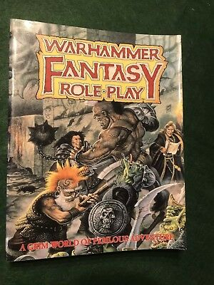 Games Workshop Warhammer Fantasy Role Play Book
