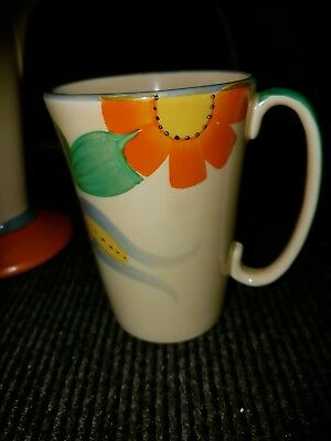 3xart deco cups,SUSIE COOPER coffee can,duchess cup-saucer,+beautiful dragon cup