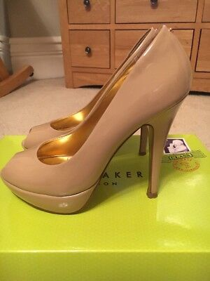 Ted Baker Nude Heels Size 36
