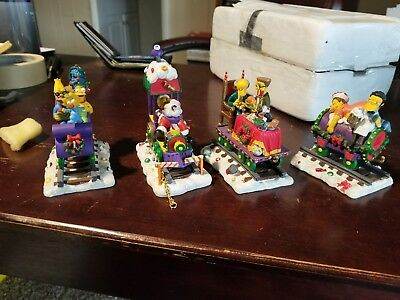 Simpsons Christmas Express Collection Set Of 4 PCS