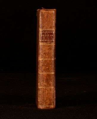1790 The Constitution of England by J L de Lolme A New Edition