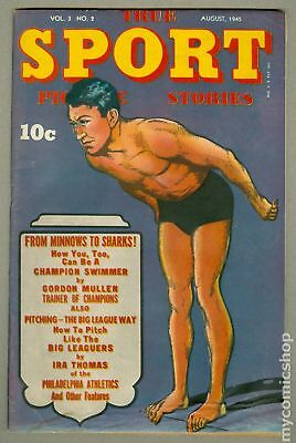 True Sport Picture Stories Vol. 3 #2 1945 GD 2.0 Low Grade