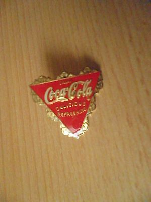 2 x Coca-Cola Pin  delicious and refreshing