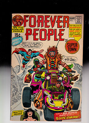 Forever People 1 4th Darkseid Kirby art solid