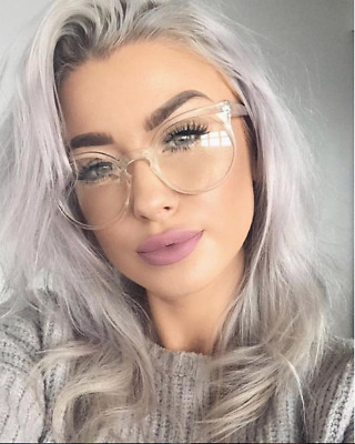 "Eyeglasses ""Kosha""  Round Crystal See Through Frames  Women Fashion  Shadz"