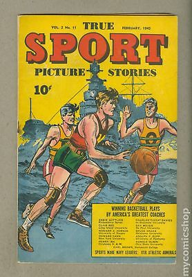 True Sport Picture Stories Vol. 2 #11 1945 FN 6.0