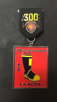 "2018 Fiesta Medal ""La Bota"""