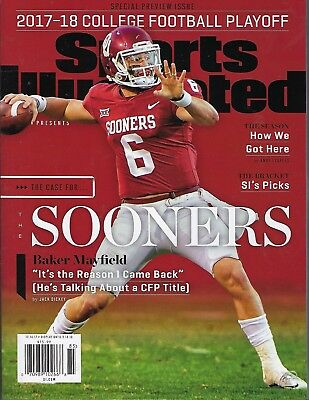 Sports Illustrated 2017-18 College Football Playoff/ Sooners