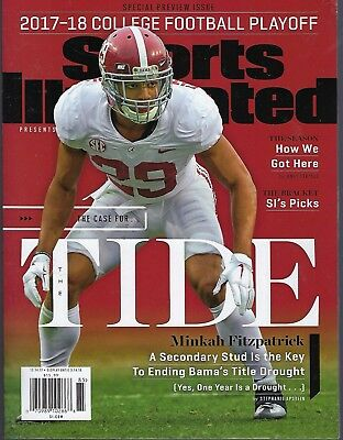 Sports Illustrated 2017-18 College Football Playoff/ Tide