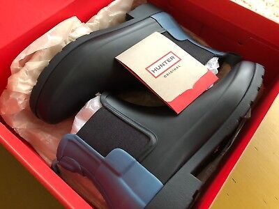 **NEW** Hunter boots, Chelsea, US Size 6, Navy/Pale Air Force