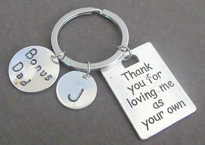Bonus Dad Gift Keychain, Gift for Step Dad ,Father's Day Gift, GodFather Gift