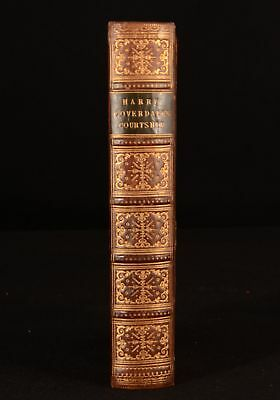 1855 Harry Coverdale's Courtship Frank E Smedley Phiz Illustrations Leather Bind