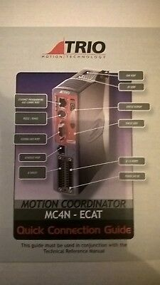 P900 Trio Motion Technology MC4N ECAT (2 Axes EtherCAT)