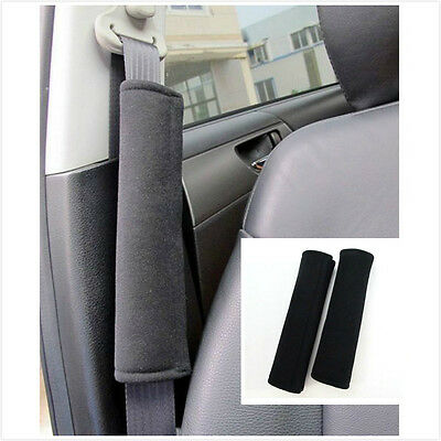 2x Car Seat Belt Pad Harness Safety Shoulder Strap Bag BackPack Cushion Cover JX