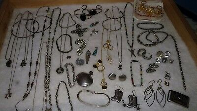 "Large Wearable Silver Lot ""360.9 Grams"" Marked Sterling & 925. Tested for purity"