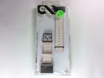 Case-Mate - Smartwatch Band for Apple Watch 38mm - White / Pink