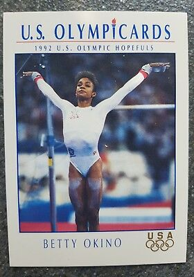 US Olymp Cards Betty Okino OS 1992 Nr. 47 Trading Card