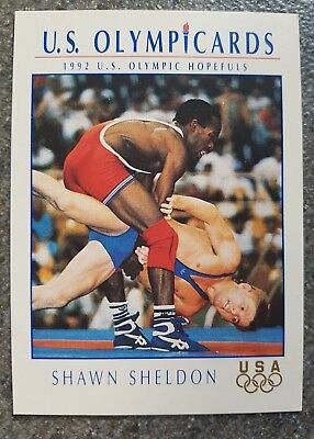 US Olymp Cards Shawn Sheldon OS 1992 Nr. 107 Trading Card