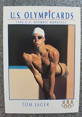 US Olymp Cards Tom Jager OS 1992 Nr. 70 Trading Card