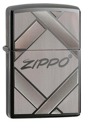 Zippo Unparalleled Tradition Laser Engraved Black Ice Lighter 20969