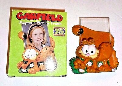 Garfield TV Kitty Cat Refrigerator Magnetic Picture Frame - New in Box  #9