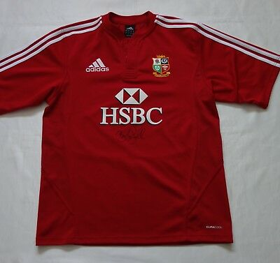Brian O'Driscoll - Ireland Hand Signed 2009 Lions Rugby Union Shirt & COA