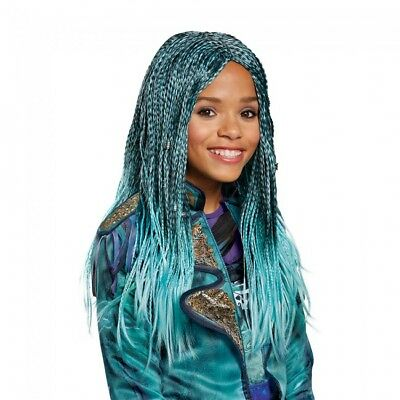 Disguise Disney Descendants 2 Uma Isle Wig Child Halloween Costume Accessory