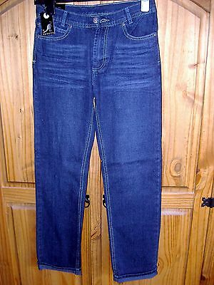 Boys Turn-Up Jeans From Kangol Age 13 Years Bnwt Rrp £39.99
